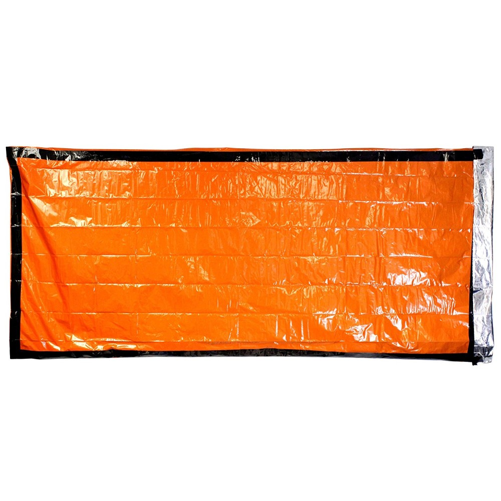 Esb01 Lightweight Waterproof Bivy Sack Emergency Survival Sleeping Bag With Nylon For Kit Camping Gear