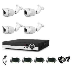 Factory Supplier 1080P POE NVR IP Camera CCTV Kit 4 Channel Home Security CCTV System