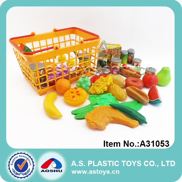 kitchen pretend kids funny cutting plastic toy mini food