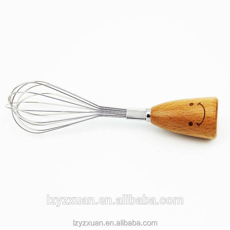 Good Quality wood innovative cookware eggbeater for five star hotle use