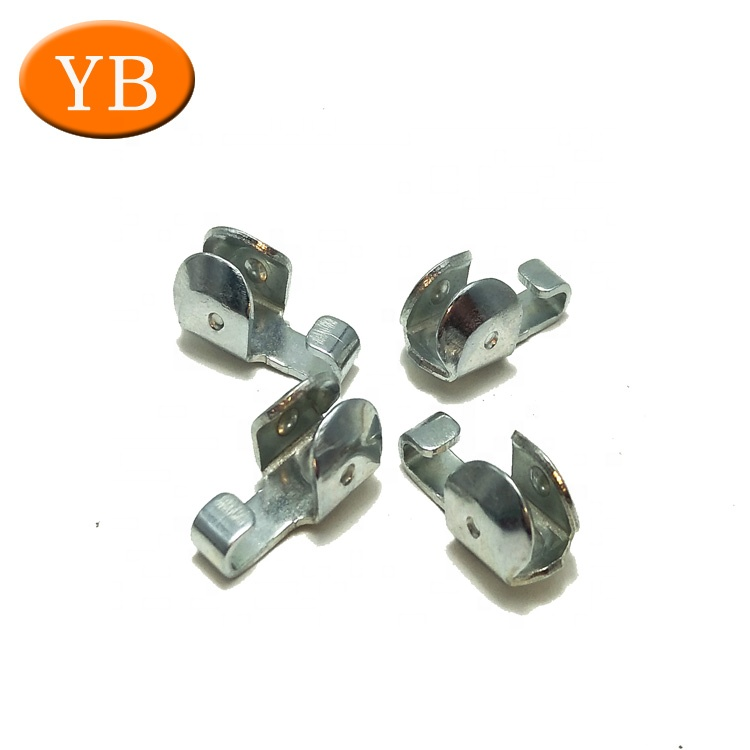 Bright Nickel-Plating Steel Single Battery Clip