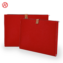 Multi kleur Fashional Vilt Houder/Bestand Case/Document Tas/<span class=keywords><strong>Laptop</strong></span> Sleeve