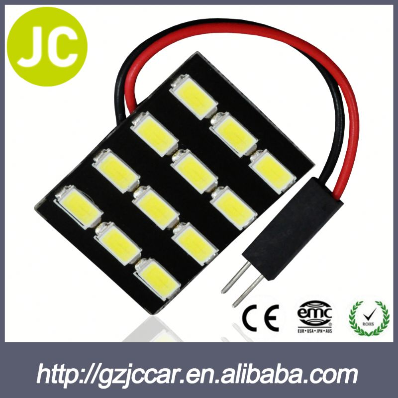 Auto spare part guangdong 12 months warranty 12 volt automobile 5630 led pcb read lamp