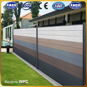 Wpc Outdoor Retractable Fence Buy Outdoor Retractable