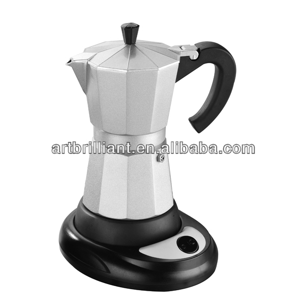 300ml electrical Aluminum antique coffee maker