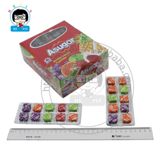 Fruitige Smaak Suiker Hot Selling Zure Fruit Zachte Chewy <span class=keywords><strong>Snoep</strong></span> Fruit <span class=keywords><strong>Zwitserse</strong></span> Sugus <span class=keywords><strong>Snoep</strong></span>