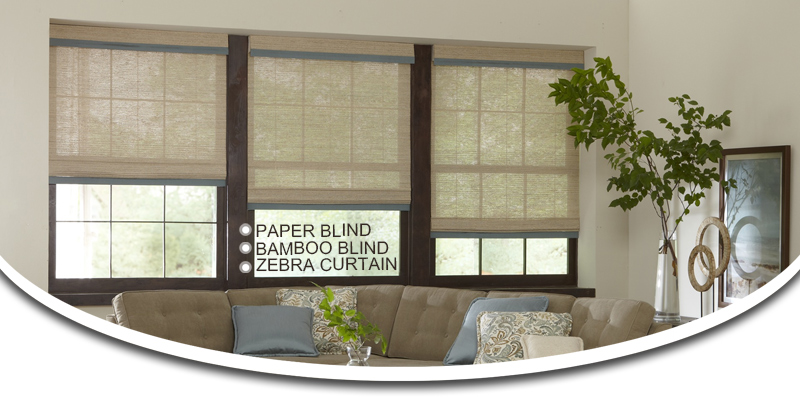 Modern Day And Night Shades Fabric Zebra Dual Roller Blinds