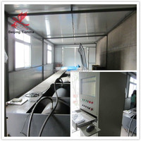 material testing machine, horizontal tensile testing bed for textile slings, hydraulic cylinder test bench