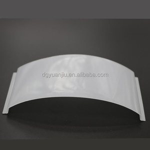 China factory offered wholesale led lamp cover for troffer / led lighting covers / pc profiles diffusers