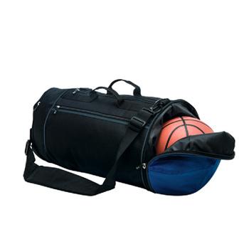 Fashionable Custom Logo Round Shape Gym Sports Bag For Basketball ... 354a25f159e61