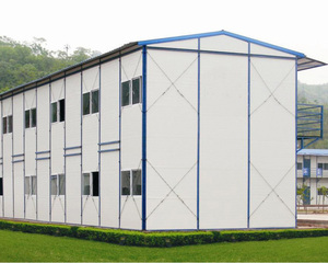 Eco-friendly house light weight steel structure apartment building prefab
