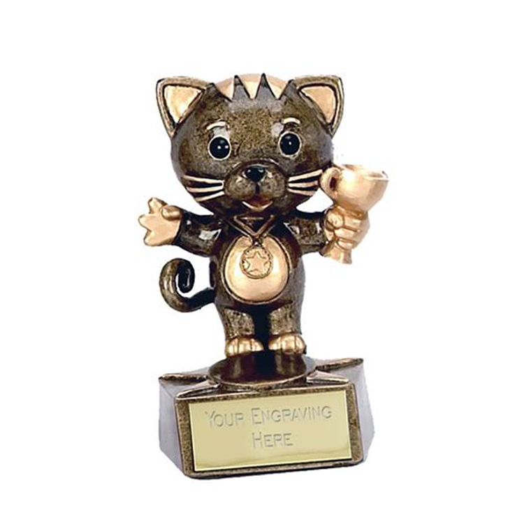 Formula car statue trophy for award souvenir