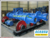 Centrifugal Spinning Cement Pipe making Machine, parit bawah jalan raya beton pracetak