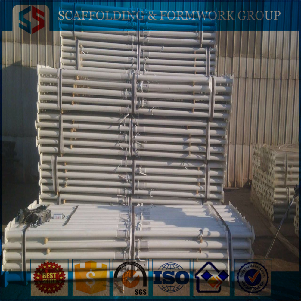 Galvanized Telescopic Galvanized Concrete Post Supports/Adjustable Steel Prop/Shoring Prop For Good Price