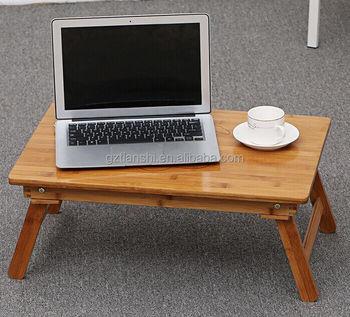 Fonkelnieuw Nieuwe Verstelbare Bamboe Gevouwen Laptop Bed Tafel/houten Laptop CD-49