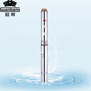 QJ 4SD Stainless Steel Deep Well Submersible Water Pump