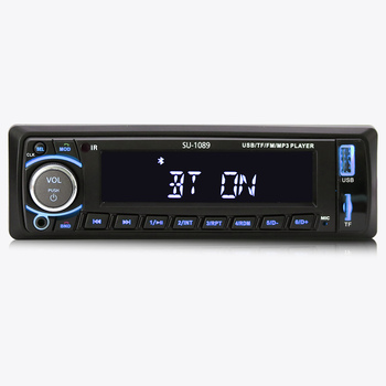 Bluetooth In-dash 12V Fixed panel FM USB SD Aux MP3 Music car audio player