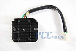 5z atv voltage regulator rectifier 4 wires honda vr02