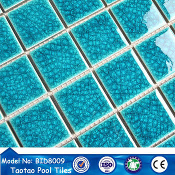 foshan all kinds of ice-cracked glass mosaic tile for swimming pool, View  glass mosaic for swimming pool tile, Taotao Product Details from Foshan ...