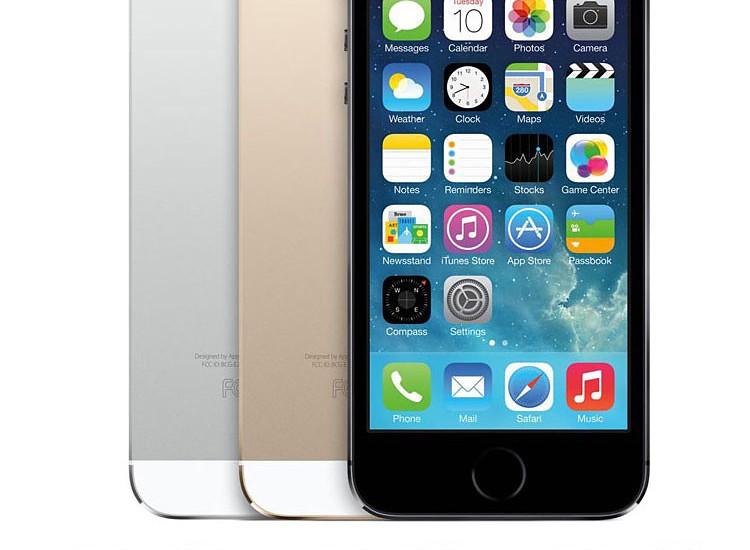 מקורי סמארטפון Apple iPhone 5S טלפונים סלולריים iOS מערכת הפעלה מסך מגע 4.0 אינץ Dual core GPG 8MP מצלמה 16GB/32GB בשימוש בטלפון נייד