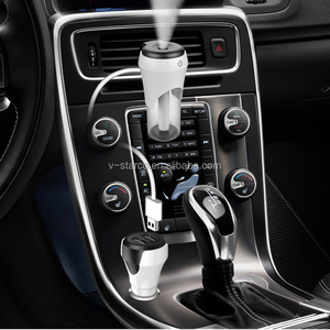 New 2017 Car Humidifier Diffusers Ultrasonic Aromatherapy For Car Industrial Humidifier 3 Colors In stock