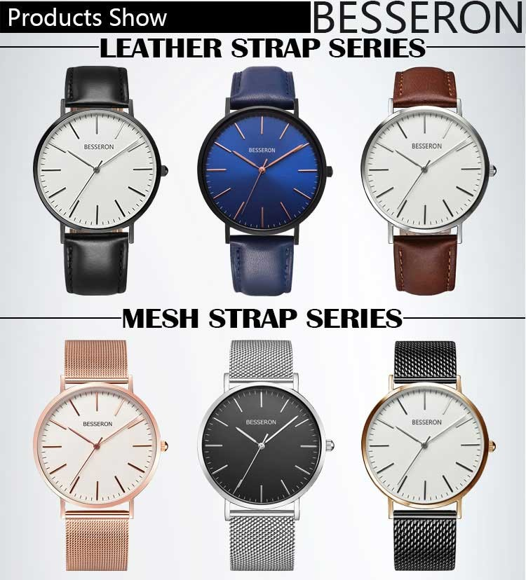 20mm leather watch straps logo top grain waterproof thick genuine leather straps