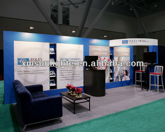 Exhibition Stall Lights : Exhibition long arm light display spot for stand exhibition stall