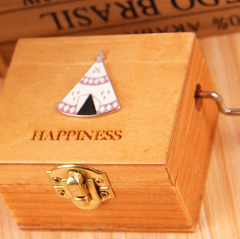 b50186323 Lovely Cute Delicate Wooden Music Box Can Choose 300 Tunes ...