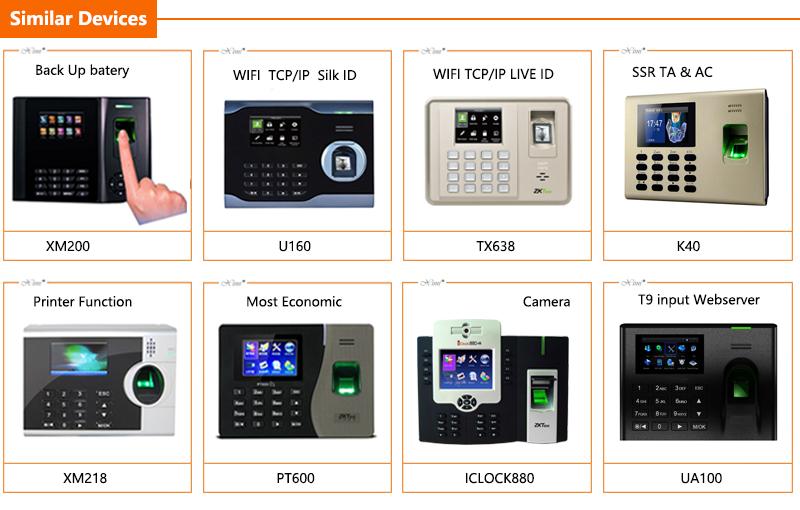 ZKteco TCP/IP F18 Fingerprint Access Control