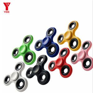 Newly arrived Special spinners cool Bluetooth speaker finger spinner LED fidget spinner