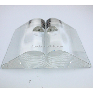 Hot fashion super quality souvenir gift clear K9 crystal book trophies award with factory price
