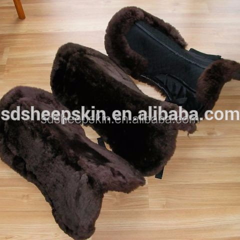 High Quality Fur Saddles Fur Riding Pad For Horses