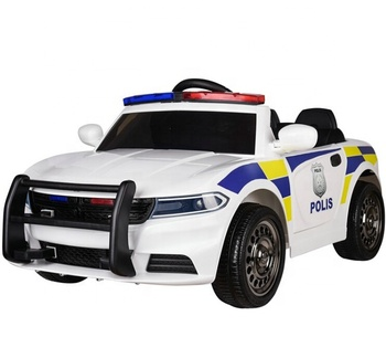 New 12v electric ride on car remote controlled police ride on car