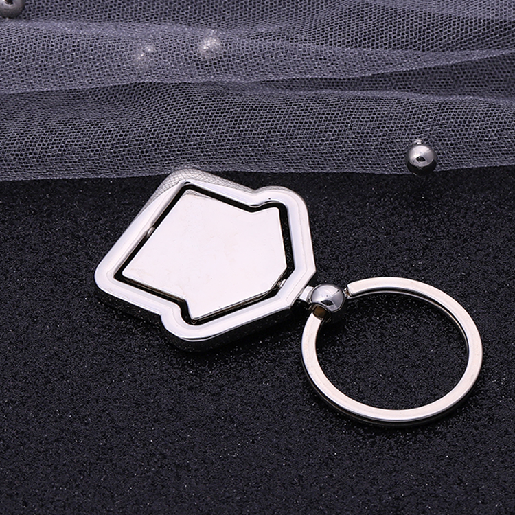 Make Your Own Logo blank Metal 3D KeyChain Parts Wholesale Metal Souvenir