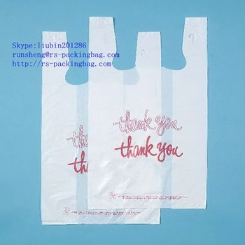 Hdpe T Shirt Packaging Plastic Bag With Factory Cheap