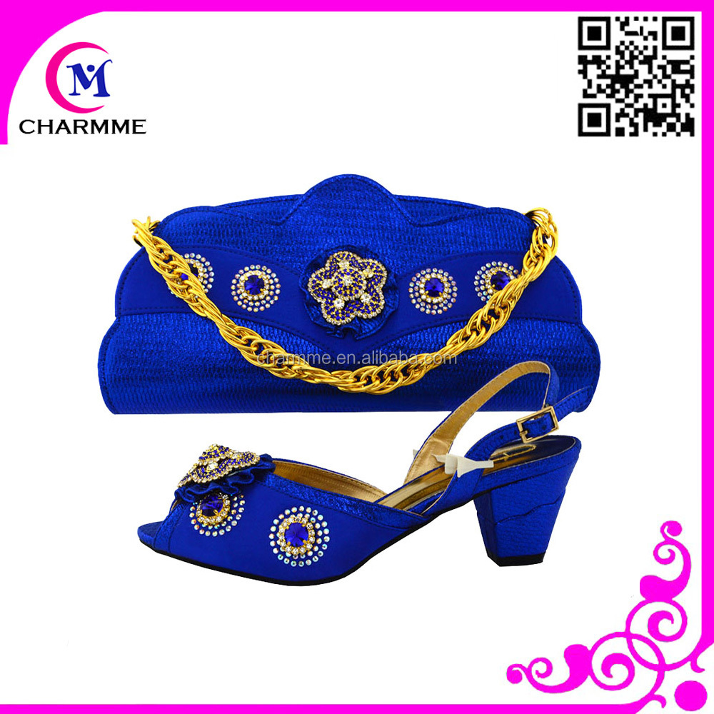 for bags dress matching and bags bag with set bule shoe 719 and shoes CSB matching royal and to match shoes ZqWt60Zxn
