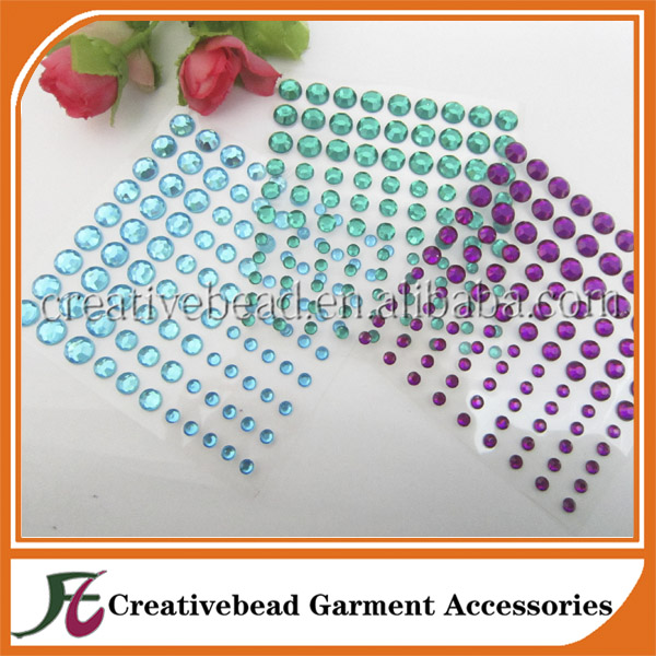 adhesive gems for phone case decoration