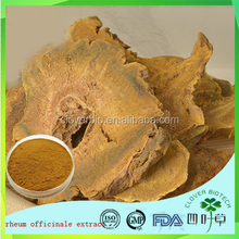 Chinese traditional herbs Rhubarb Extract Emodin Rhein physcion for sale