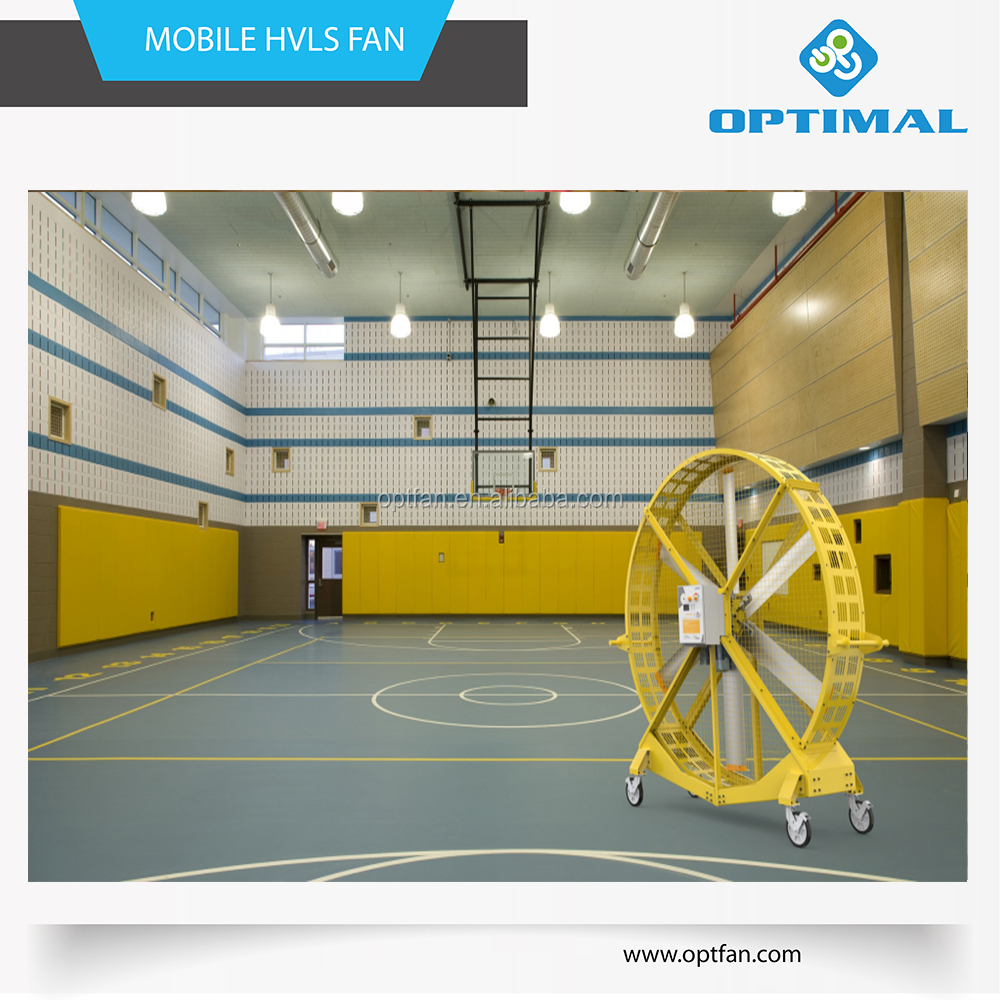 Suzhou OPT 2.6m large size portable ventilation fan