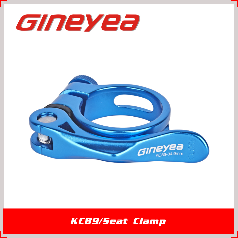 31.8mm Bicycle Seat Clamp High Strong CNC Aluminium Gineyea KC89