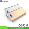 Hot Sale Fast Charging two outputs smart power bank with bule LCD screen