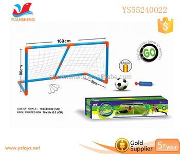 Plastic Football Beach Soccer Goal For Boy Play Nets