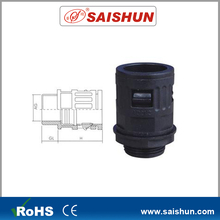 Waterproof conduit fitting elbow cable connector