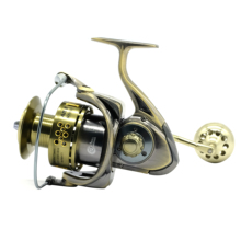 38 kg Power Drag 12 + 1 Kugellager Spinning Reels Heavy Duty Meer Fischerboot Angeln Jigging Angeln Reel