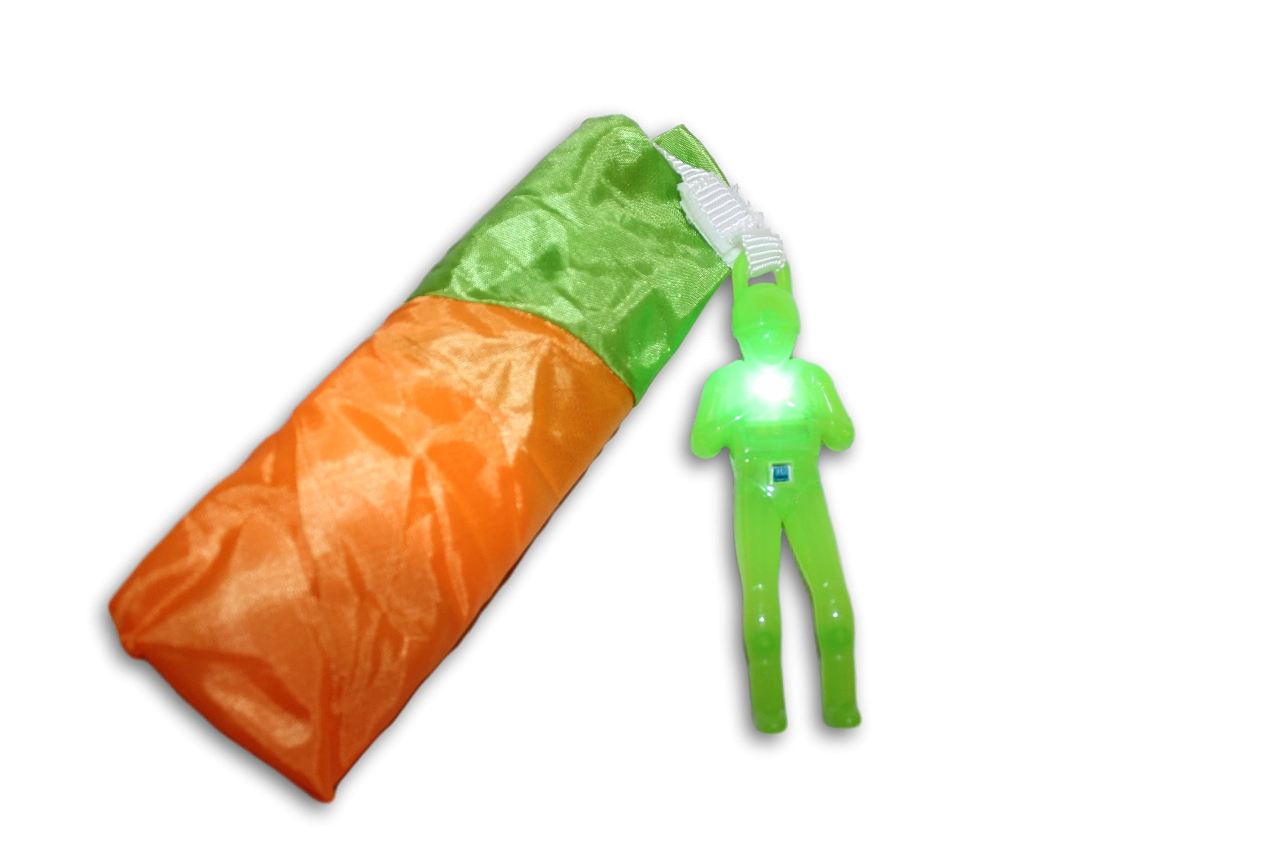 Toys+ Tangle Free Parachute Man Skydiver 1 Piece Great For Easter Baskets (Pick Your Color!)