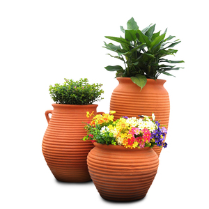 PP-004 Handmade Outdoor Glazed Pottery Pots/Planter