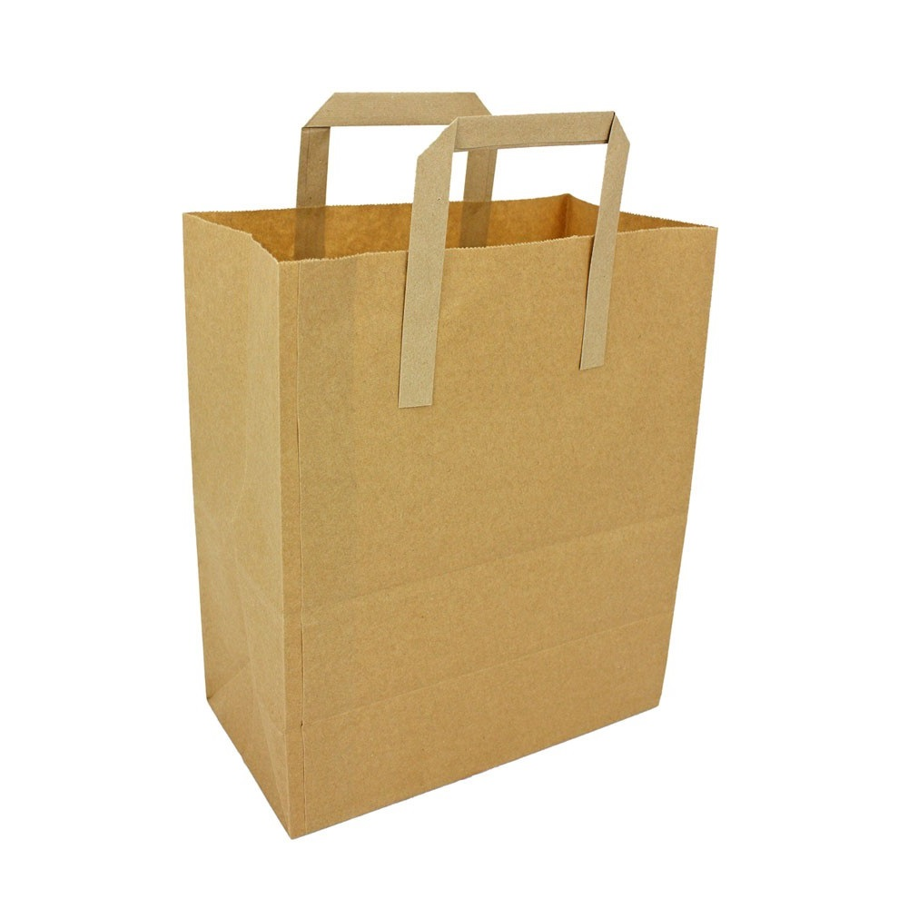 Large paper bags with handles