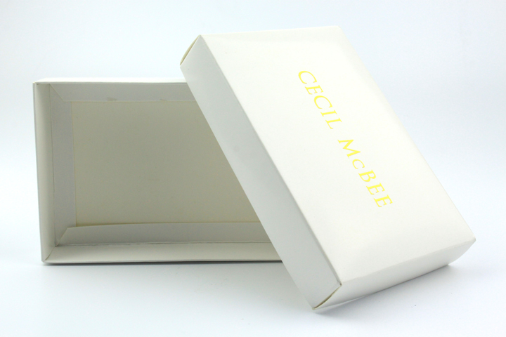 Square White Cardboard With Lids Clothing Gift Box Mockup