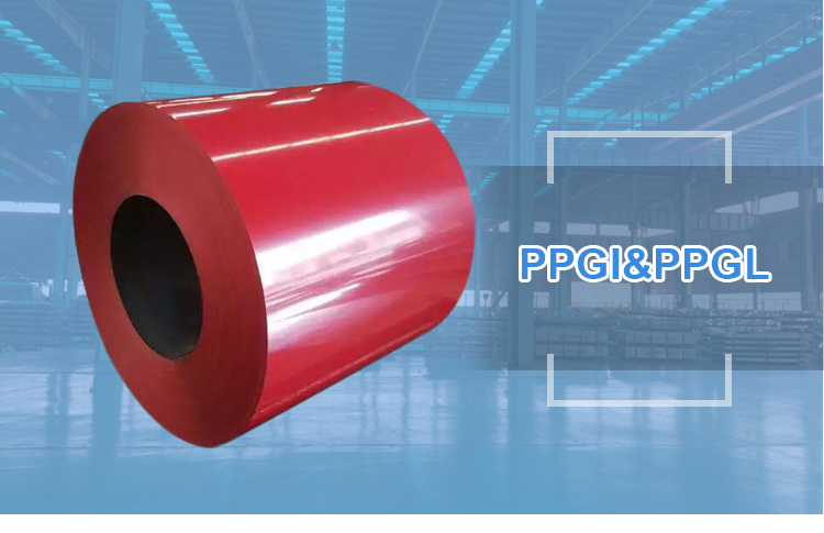 PPGI color Coated steel pre-painted galvanized steel coil PPGI