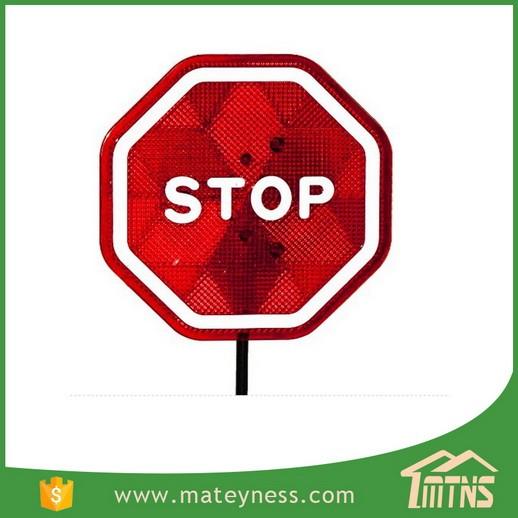 Asistente aparcamiento señal de stop con LED flash para garaje cochera batería de sensores